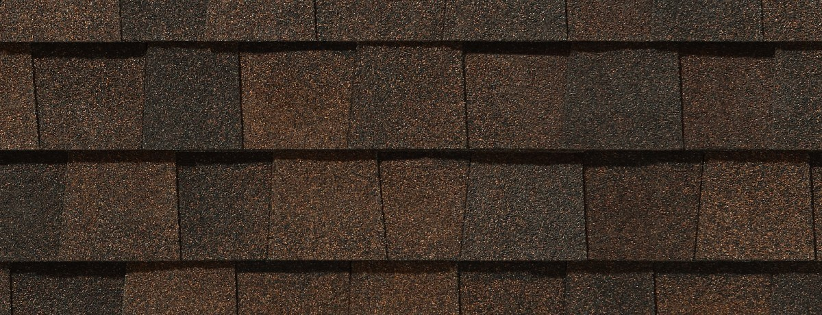Burnt Sienna roof shingle