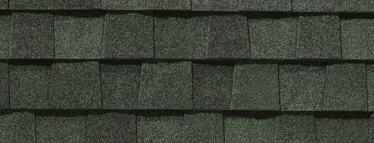 Hunter Green roof shingle