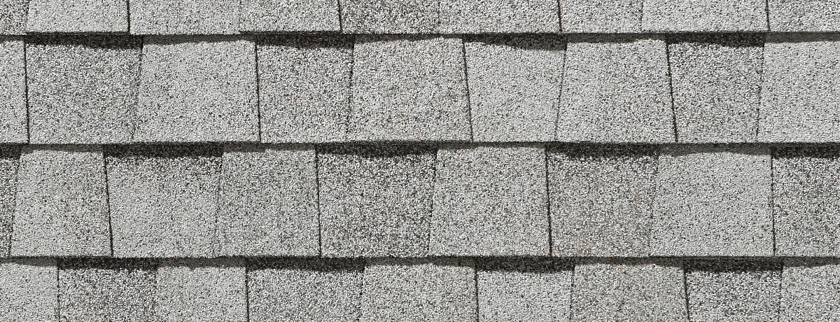 Mist White roof shingle