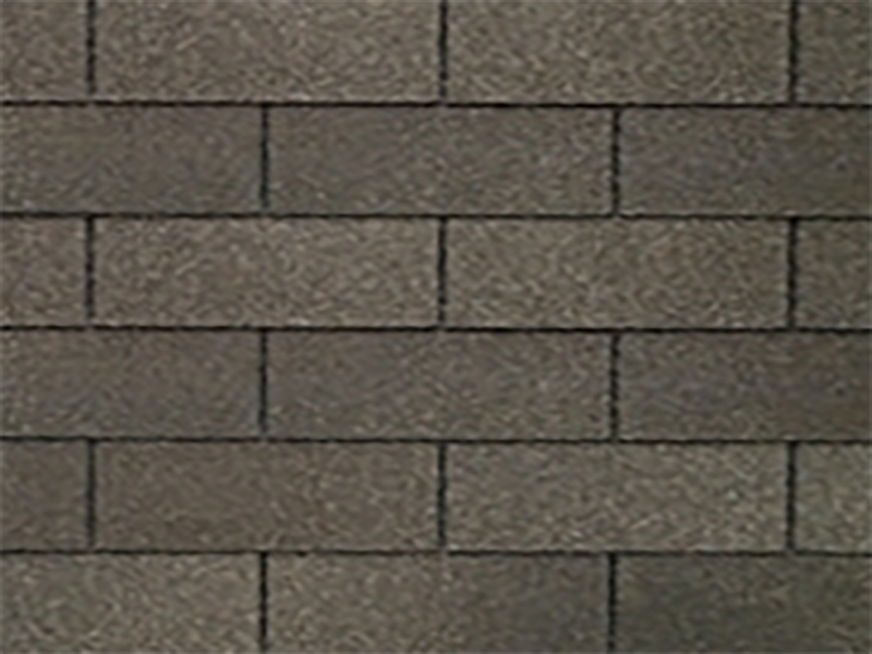 weathered gray roof shingle